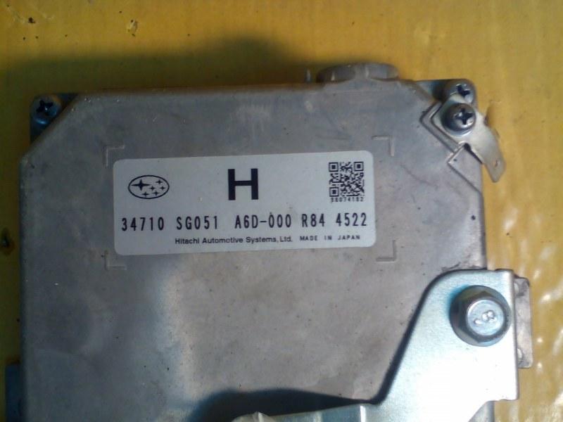 Блок управления рулевой рейкой Subaru Forester SJ5 FB25 2014 SUBARU 34710-SG051