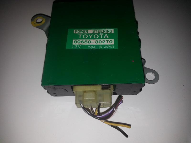 Блок управления рулевой рейкой Toyota Crown GS131 1GGE 09.1987 89650-30270 TOYOTA 8965030270