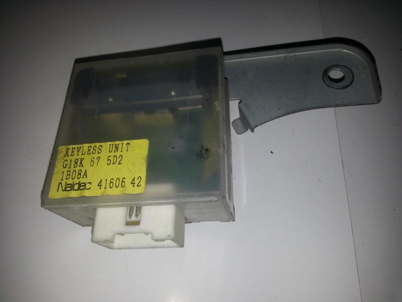 Блок управления замками Mazda Demio DW3W B3 MAZDA G18K675D2