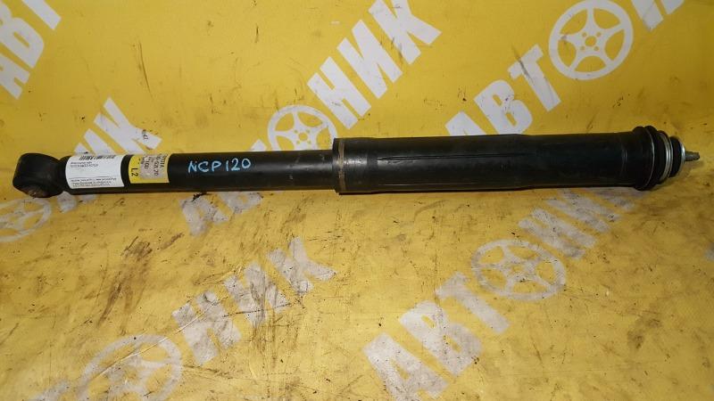 Амортизатор Toyota Ractis NCP120 1NZ-FE 10.2010 задний TOYOTA 48530-52L20