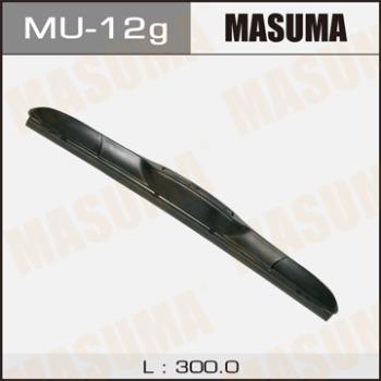 Щетка стеклоочистителя masuma 12inch 300mm гибридная j-hook MASUMA MU-12g