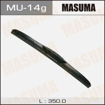 Щетка стеклоочистителя masuma 14inch 350mm гибридная j-hook MASUMA MU-14g