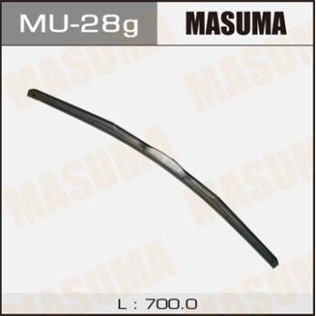 Щетка стеклоочистителя masuma 28inch 700mm гибридная j-hook MASUMA MU-28g