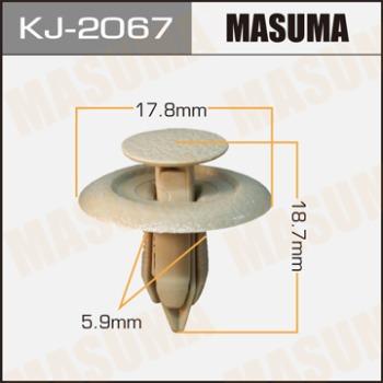 Клипса пластиковая masuma Mazda Tribute EP3W MASUMA KJ-2067