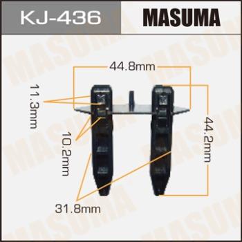 Клипса пластиковая masuma Toyota Rav4 ACA21 MASUMA KJ-436