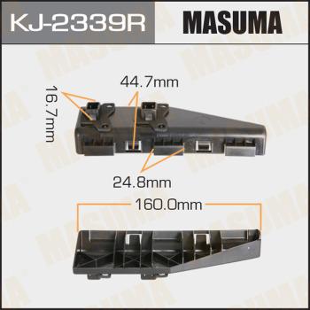Клипса бампера задняя правая MASUMA KJ-2339R