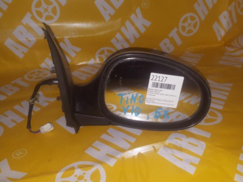 Зеркало Nissan Tino V10 переднее правое 5k NISSAN 96301-4U001