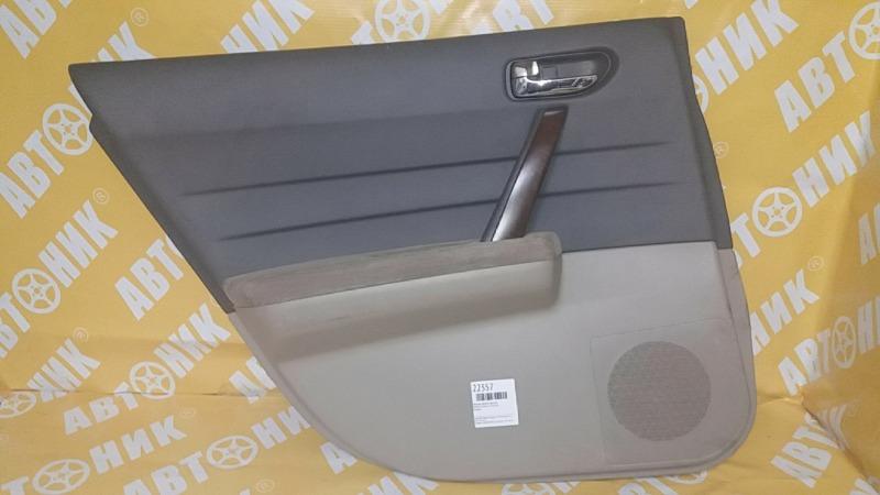 Обшивка дверей Nissan Teana J31 VQ23DE задняя левая