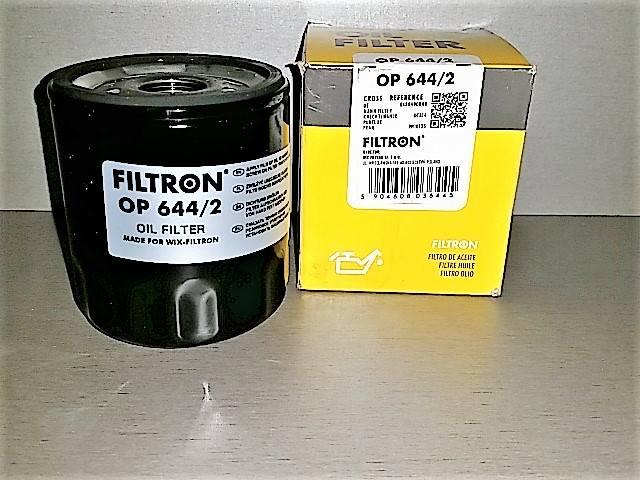 Фильтр маслянный FILTRON OP644/2