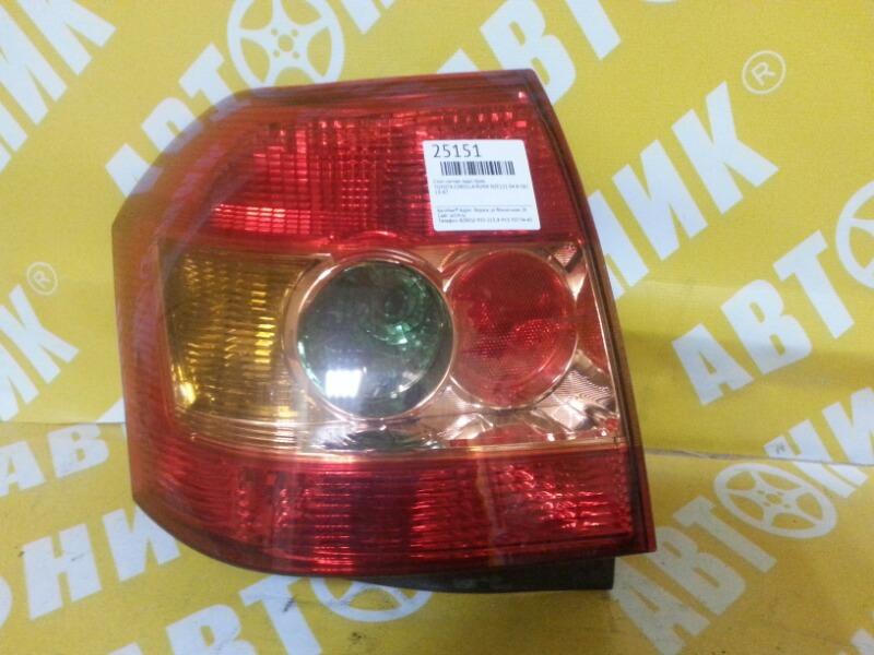 Стоп-сигнал Toyota Corolla Runx NZE121 04.4~06.9 задний правый 13-87 TOYOTA