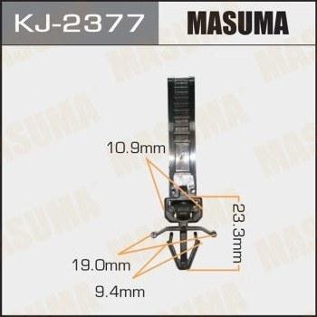 Клипса пластиковая masuma MASUMA kj2377