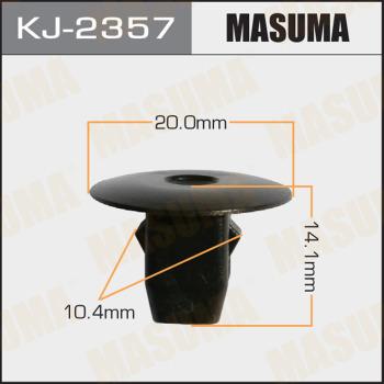 Клипса пластиковая masuma MASUMA kj2357