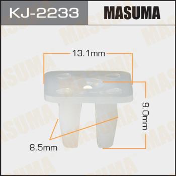 Клипса пластиковая masuma MASUMA kj2233