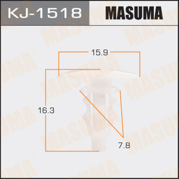 Клипса пластиковая masuma MASUMA kj1518