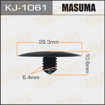 Клипса пластиковая masuma MASUMA kj1061
