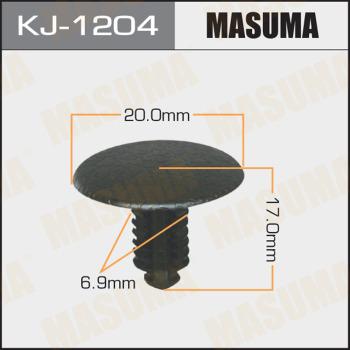 Клипса пластиковая masuma MASUMA kj1204