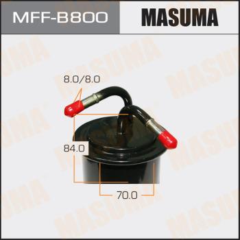 Фильтр топливный Subaru Legacy BH5 EJ20 MASUMA MFF-B800