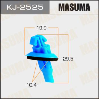 Клипса пластиковая masuma MASUMA KJ2525