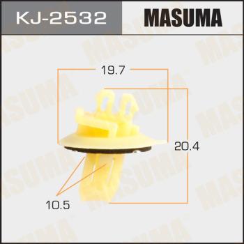 Клипса пластиковая masuma MASUMA KJ2532