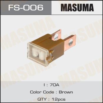 Предохранитель 70a MASUMA FS-006