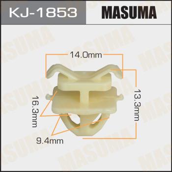 Клипса пластиковая masuma MASUMA KJ1853