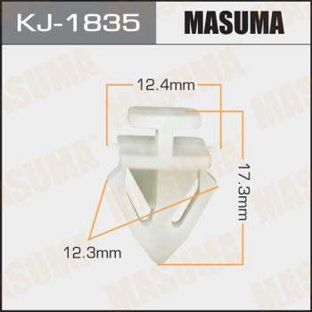Клипса пластиковая masuma MASUMA KJ1835