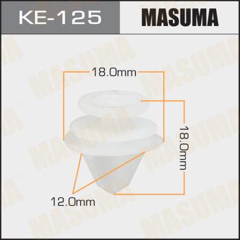 Клипса пластиковая masuma MASUMA KE125