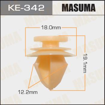 Клипса пластиковая masuma MASUMA KE-342