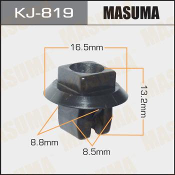 Клипса пластиковая masuma MASUMA kj819