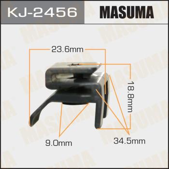 Клипса пластиковая masuma MASUMA KJ2456