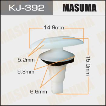 Клипса пластиковая masuma MASUMA KJ-392