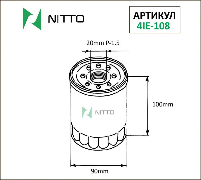 Фильтр маслянный NITTO 4IE-108
