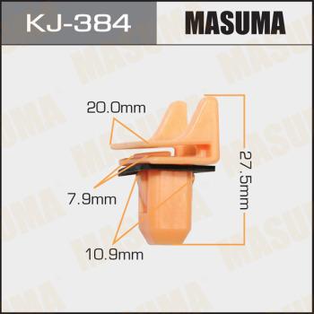 Клипса пластиковая masuma MASUMA KJ384