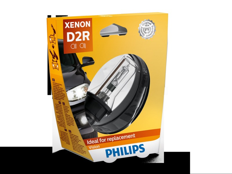 Лампа ксенон d2r PHILIPS 85126VIS1