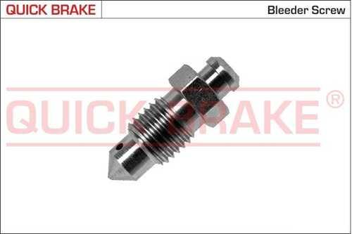Штуцер прокачной m10x1.25, l=28mm, s=10 Quick Brake 0101
