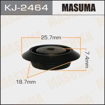 Клипса пластиковая masuma MASUMA KJ2464