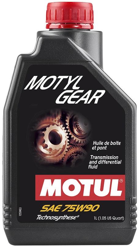 Масло трансмиссионное motylgear sae 75w-90 1l MOTUL 109055