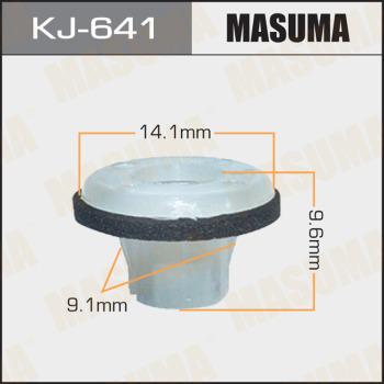 Клипса пластиковая masuma MASUMA KJ-641
