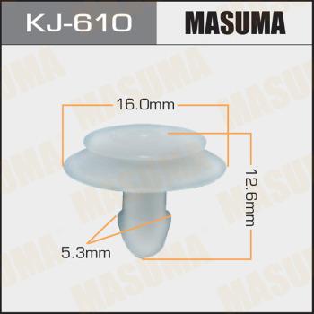 Клипса пластиковая masuma MASUMA KJ-610
