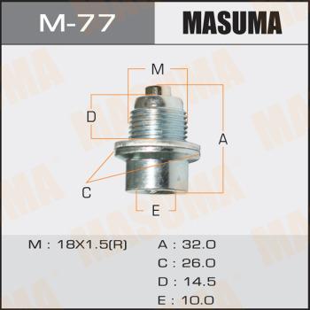 Болт MASUMA M-77