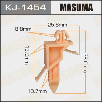 Клипса пластиковая masuma MASUMA kj1454