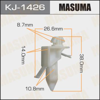 Клипса пластиковая masuma MASUMA kj1426