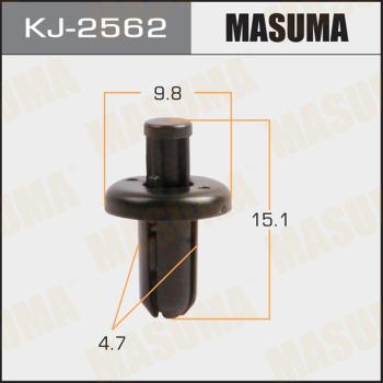 Клипса пластиковая masuma MASUMA kj2562