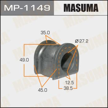 Втулка стабилизатора MASUMA mp1149