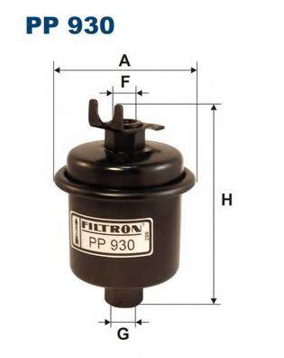 Фильтр топливный Honda Cr-V RD-1 B20B FILTRON PP930