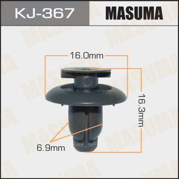 Клипса пластиковая masuma MASUMA kj367