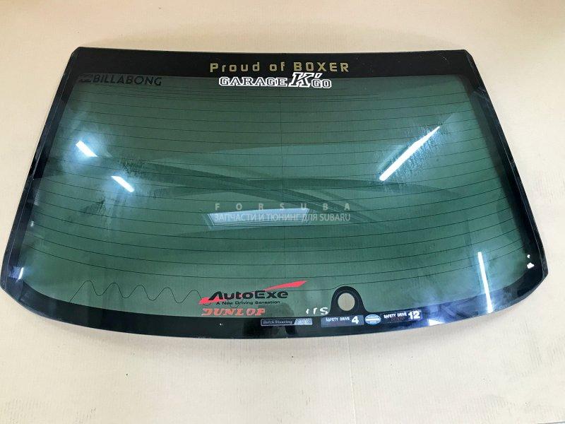 Стекло Subaru Impreza Wrx Sti GDB GDA EJ207 EJ205 2003 заднее