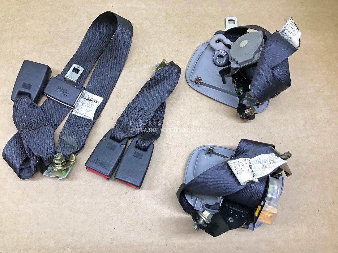 Ремень безопасности Subaru Impreza Wrx Sti GDB GDA EJ207DW5CR 2003 задний