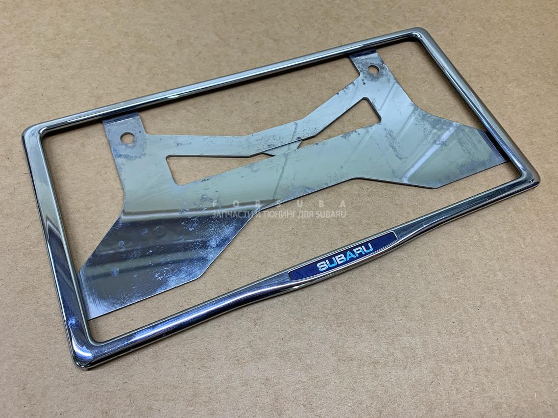 Рамка для номера Subaru Forester SH5 EJ204JPZME 2008