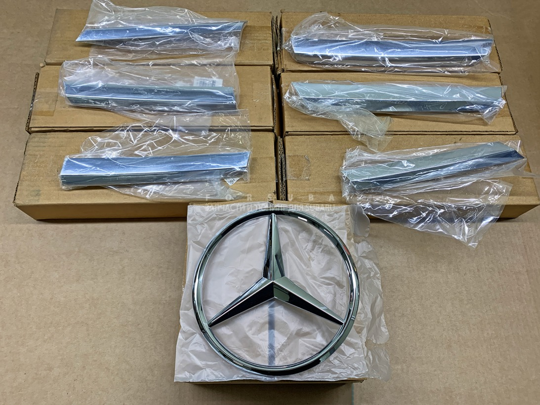 Решетка радиатора Mercedes-Benz Gl500 X164 273 2011